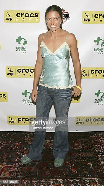 Volleyball player Misty May-treanor attends the AVP celebration party of the launch of the AVP Crocs Tour, held at the House of Blues on May 2, 2006...