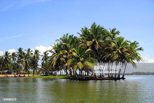Volta River at Adá Foah in Ghana