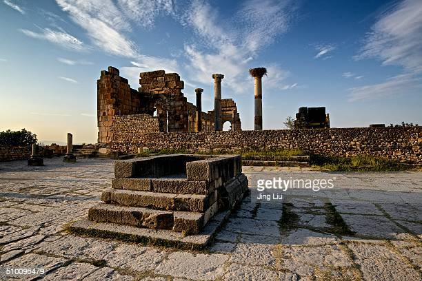 Volubilis is a partly excavated Roman city in Morocco situated near Meknes between Fes and Rabat . Built in a fertile agricultural area, it was...