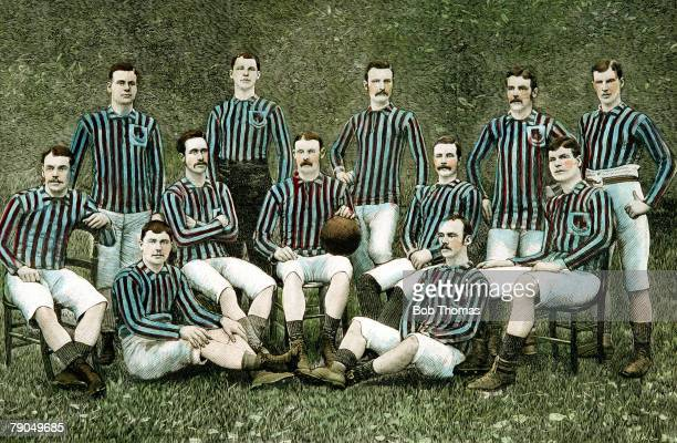 Volume 2 Page 10 Picture number 6 Sport Football FA Cup winners Aston Villa as a team group