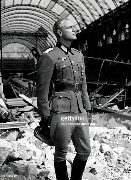 Volume 2 Page 102 Picture 4 American Actor Marlon Brando in the film The Young Lions in which he played a Nazi soldier in World War II