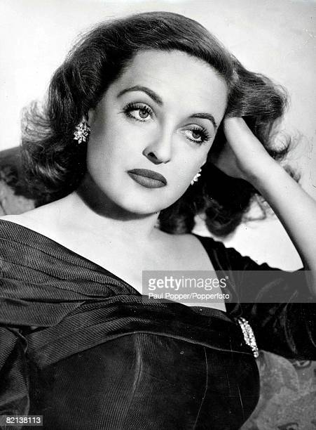 Volume 2 Page 102 Picture 6 A portrait of American Actress Bette Davis from the film 'All about Eve'