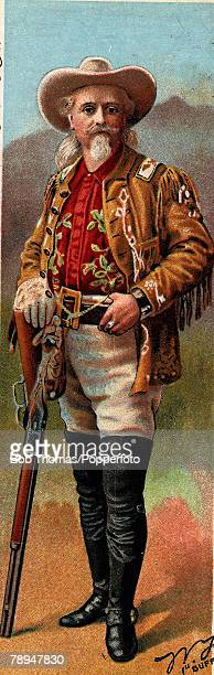 Volume 2 Page 107 Pic 5 Colour illustration of Buffalo Bill Cody US Showman famous for his Wild West show