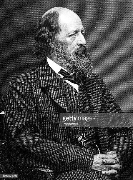 Volume 2, Page 114, Picture English Poet, Lord Alfred Tennyson,