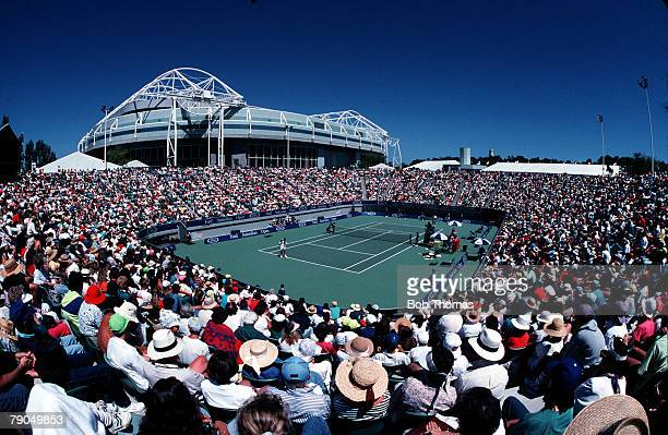 Melbourne Tennis Center Stock Photos And Pictures Getty Images