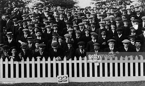 Volume 2 Page 17 Pic 1 Football fans at Brighton and Hove Albion V Coventry Hove 9th September 1911