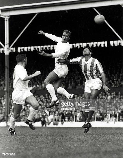 Volume 2 Page 20 Picture 6 18th August 1962 Stoke City v Leeds United Leeds Uniteds John Charles playing in his first game back with Leeds United...