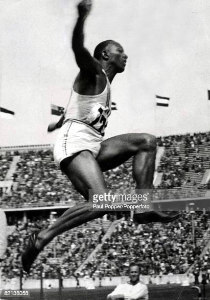 Volume 2 Page 22 Picture 6 Berlin Olympics 1936 Jesse Owens of the USA