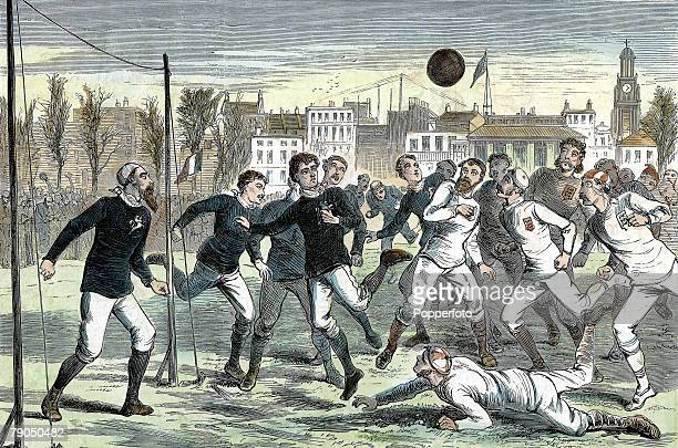 Volume 2 Page 31 Picture 2 Football illustration England v Scotland at the Oval