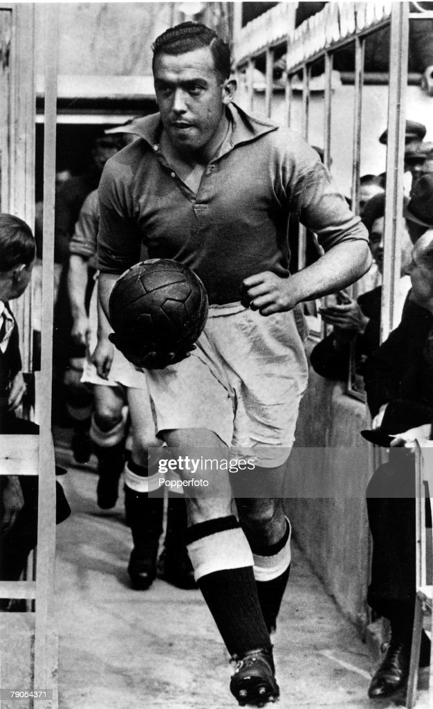 Volume 2. Page 35. Pic 10. Football. Dixie Dean, Everton and England centre forward. 1936. : News Photo