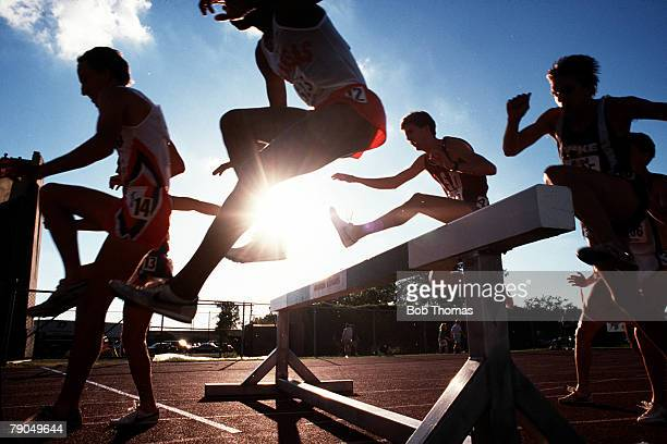 Volume 2, Page 7, Picture number 6, Sport, Athletics, Track And Field Championships, Houston, Texas, USA, 15th June A low camera angle showing a...