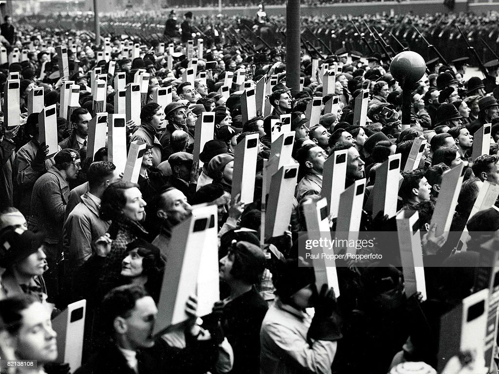 Volume 2, Page 70, Picture 5, London, England, Viewing of King George VIs, coronation procession, Trafalgar Square, 1937