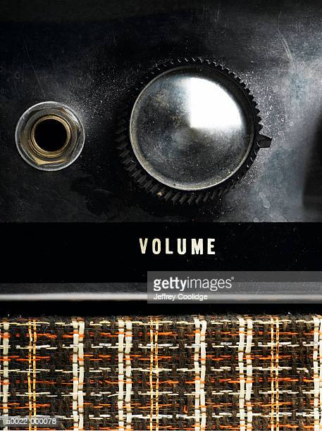 Volume Dial on Guitar Amp