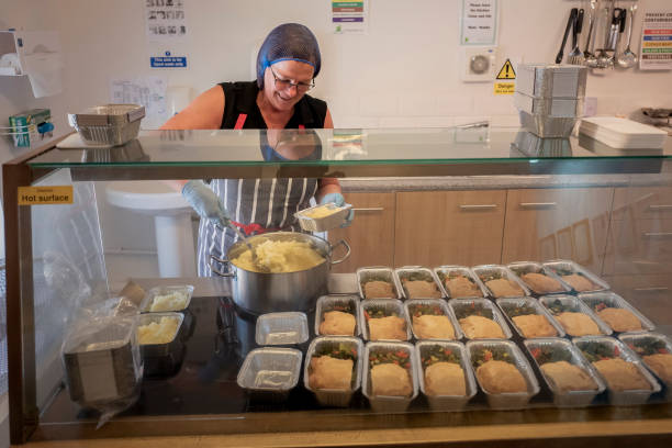 GBR: The Anthony Seddon Fund Prepare Food Drops For The Vulnerable