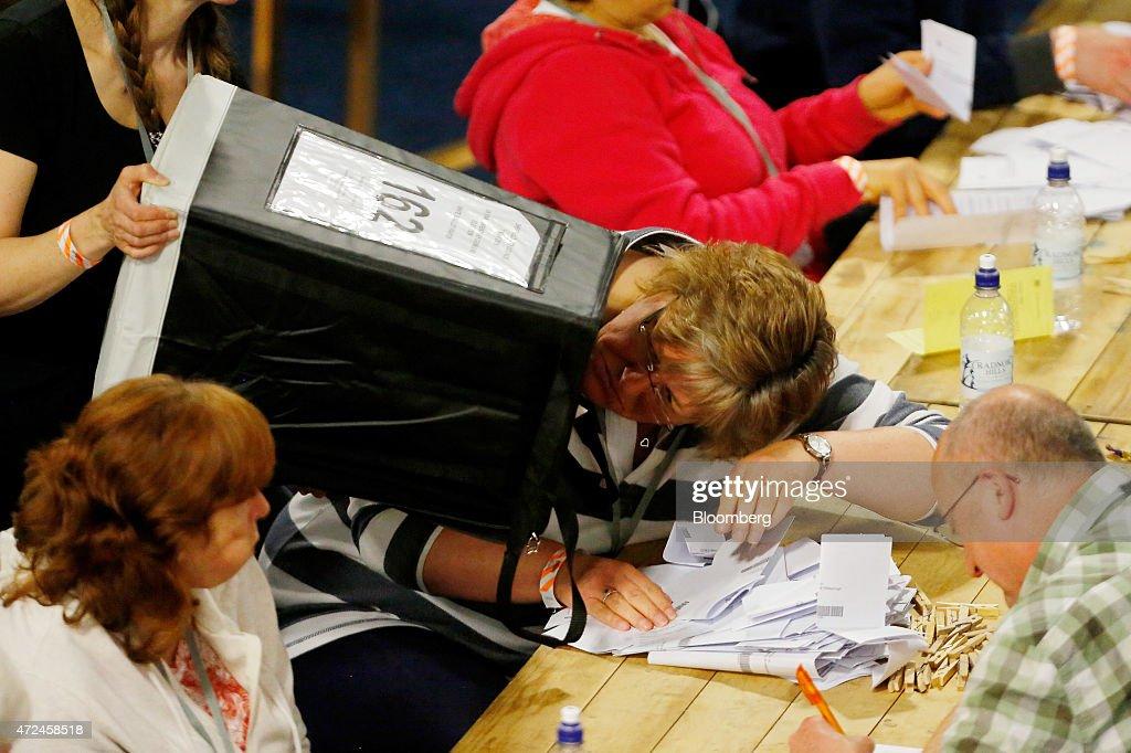 U.K. 2015 General Election : News Photo