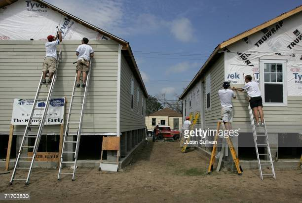 427 New Orleans Area Habitat For Humanity Photos And Premium High Res Pictures Getty Images