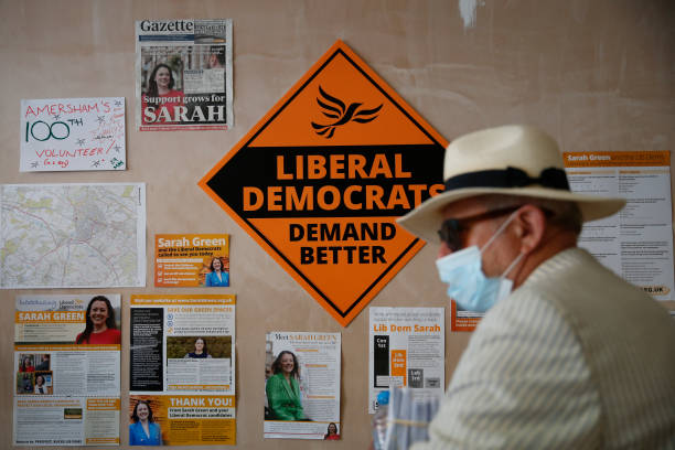 GBR: The Liberal Democrats Campaign In Amersham Ahead Of Thursday's By-election