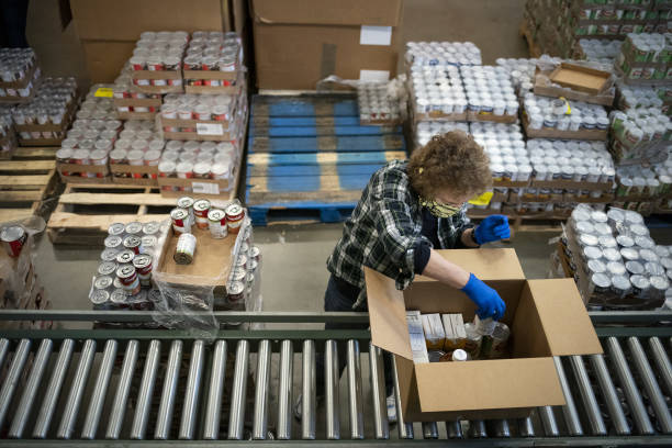 DC: Food Packaging And Distribution At The Capital Area Food Bank