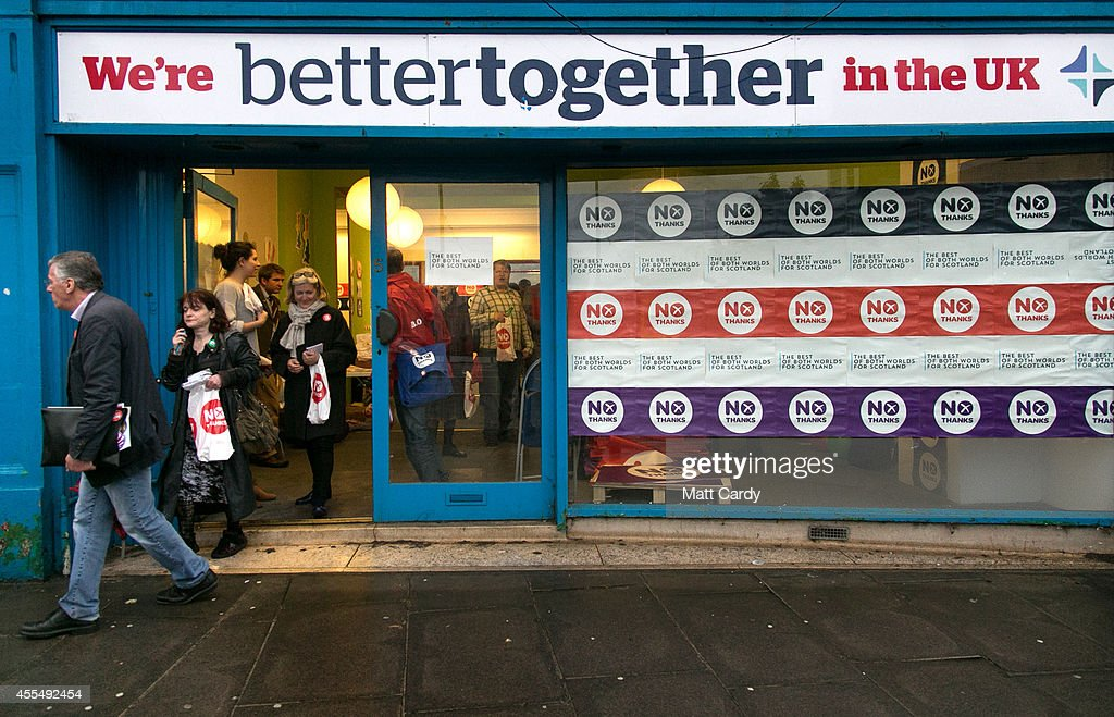 Scottish Referendum Enters Final Days Of Campaigning : News Photo