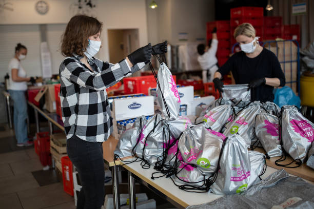 DEU: Protestant Charity Provides For The Homeless During The Coronavirus Crisis
