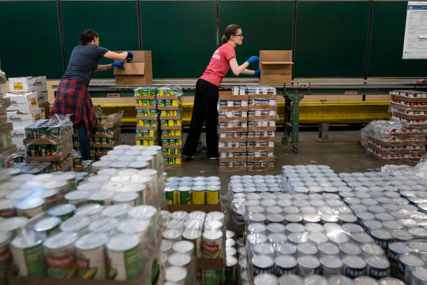 DC: DC-Based Capital Area Food Bank Works To Distribute Food To Local Pantries