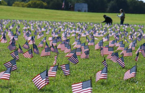 DC: U.S. Flags Memorialize COVID-19 Deaths On Washington National Mall