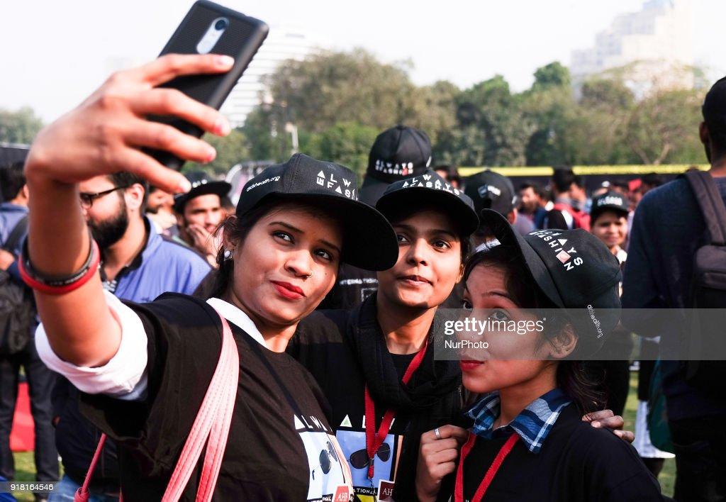 International Condom Day in New Delhi : News Photo
