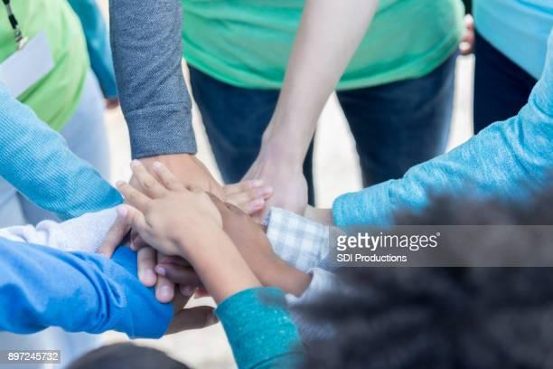 Volunteers unite during community charity event