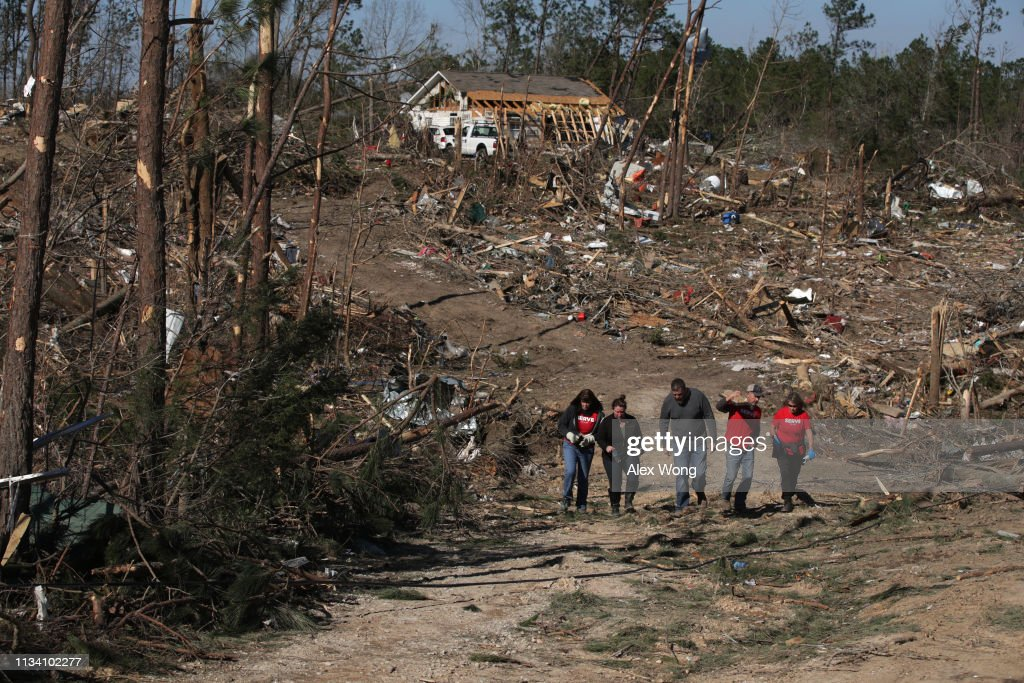 23 Killed As Tornadoes Sweep Across Southeast Causing Widespread Damage : News Photo