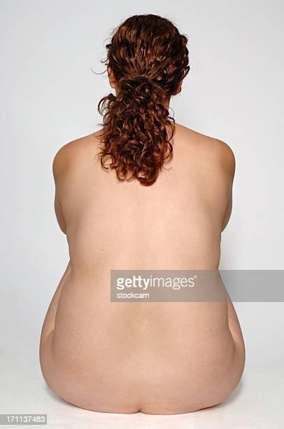 donna formosa nude - chubby foto e immagini stock
