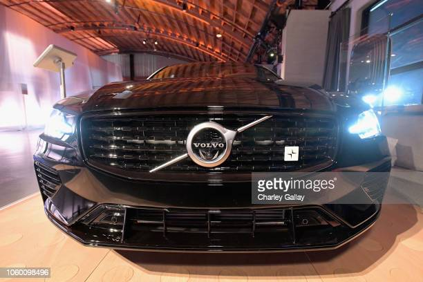 Volvo automobile is displayed at the 2018 Baby2Baby Gala Presented by Paul Mitchell at 3LABS on November 10 2018 in Culver City California