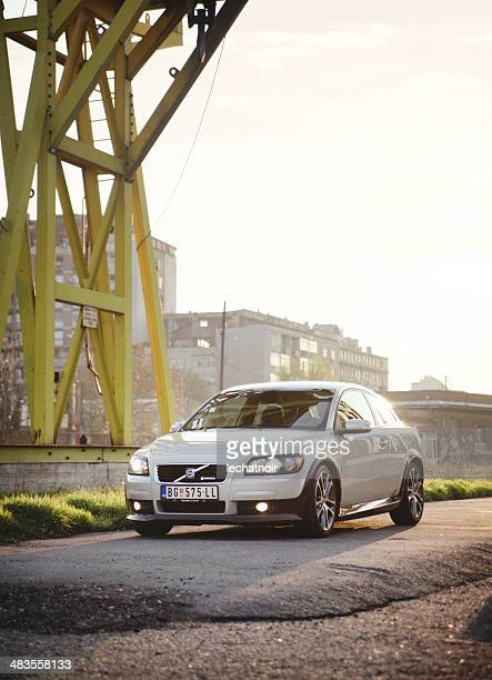 volvo c30 tuning by heico sportiv - volvo stock pictures, royalty-free photos & images