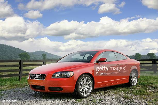 volvo c70 - volvo stock pictures, royalty-free photos & images