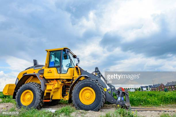 Volvo L70H wheel loader machine on a construction site