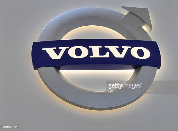 volvo logo - volvo stock pictures, royalty-free photos & images