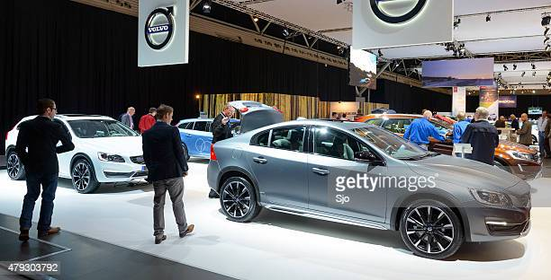 Volvo motor show stand