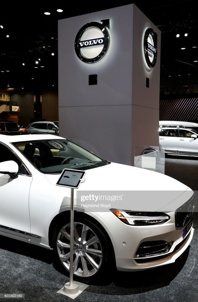 Volvo S 90 is on display at the 110th Annual Chicago Auto Show at McCormick Place in Chicago, Illinois on February 9, 2018.