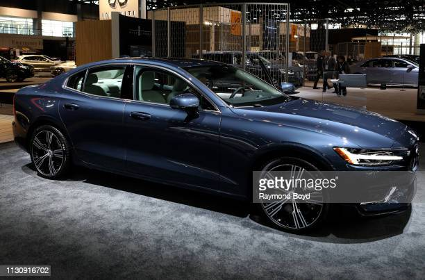Volvo S60 is on display at the 111th Annual Chicago Auto Show at McCormick Place in Chicago Illinois on February 8 2019