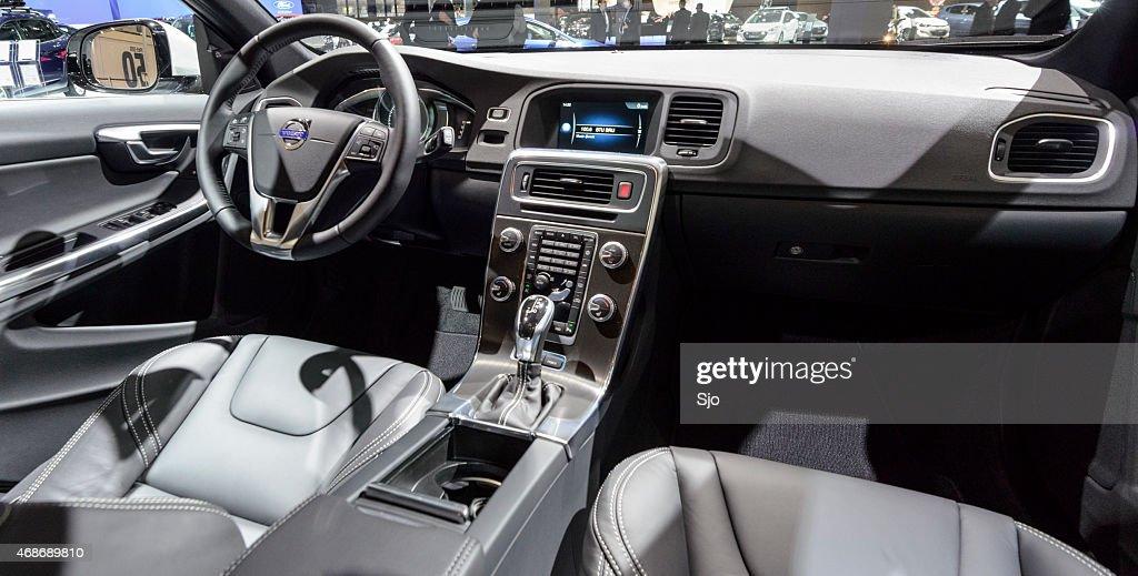 Volvo V60 Swedish Design Luxury Interior Stock Photo | Getty Images