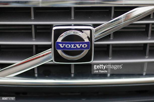 Volvo vehicle is seen on the sales lot of Deel Sales Volvo Saab Volkswagen December 1 2008 in Miami Florida Ford Motor Co said today it is...