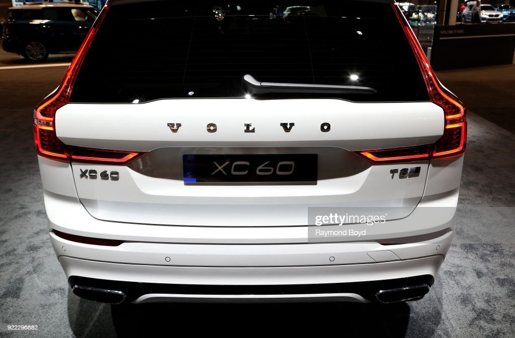 Volvo XC 60 is on display at the 110th Annual Chicago Auto Show at McCormick Place in Chicago, Illinois on February 9, 2018.