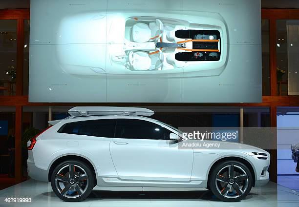 Volvo XC Coupe Consept attracts attention during the 2014 North American International Auto Show features more than 50 brand new cars and concept...