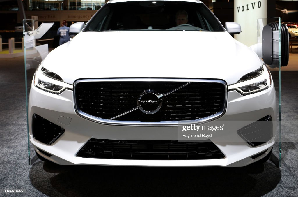 Volvo XC60 is on display at the 111th Annual Chicago Auto