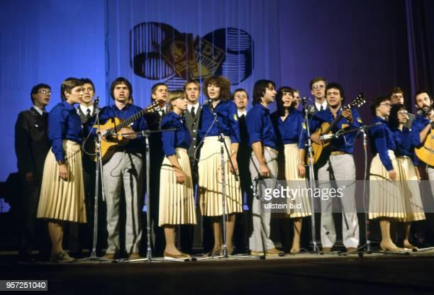 Vom 12. Bis 17. Oktober 1983 findet in Kiew in der Sowjetunion das VI. Festival der Freundschaft zwischen der sowjetischen Jugendorganisation...