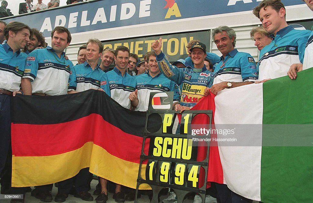 FORMEL 1: GP von AUSTRALIEN 1994 : News Photo