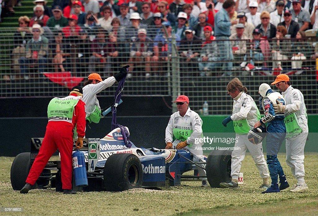 FORMEL 1: GP von AUSTRALIEN 1997 Melbourne, 09.03.97 : News Photo