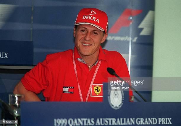 GP von AUSTRALIEN 1999 Melbourne Michael SCHUMACHER/FERRARI