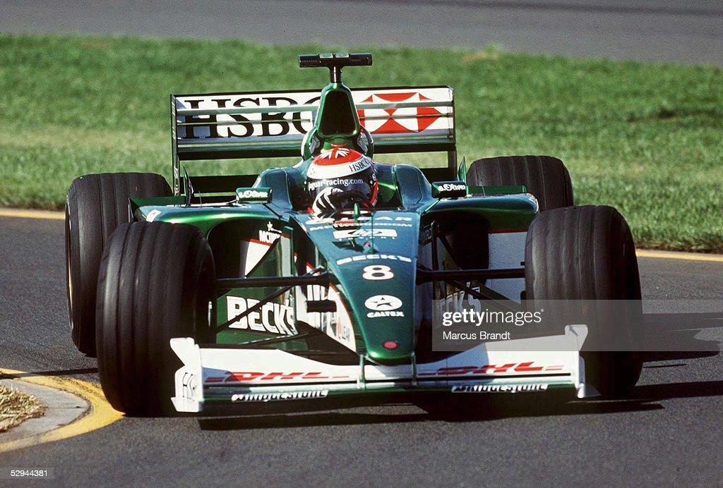 HERBERT/FORMEL 1: GP von AUSTRALIEN 2000 : News Photo