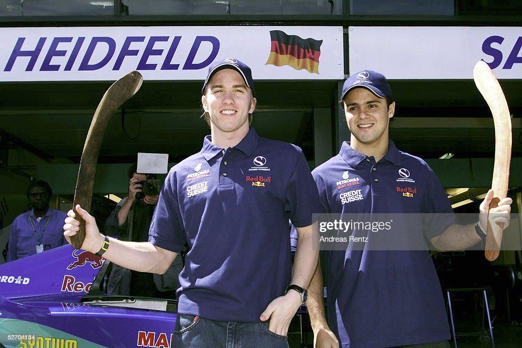 GP von AUSTRALIEN 2002, Melbourne; Nick HEIDFELD/GER, Felipe MASSA