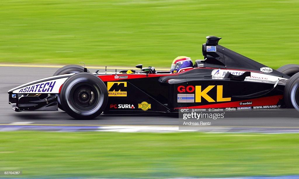 MOTORSPORT/FORMEL 1: GP VON AUSTRALIEN 2002, TRAINING : News Photo